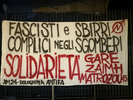 Cops and Fascists accomplices in evictions. Solidariety to Gare, Zaimh and Matrozou45. Xm24 - Bolognina Antifa (Italy) image