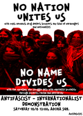 [Chania] Call for an Antifasict-internationalist  demo image