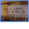 Attack against french institute in solidarity with our prosecuted comrades struggling against borders image
